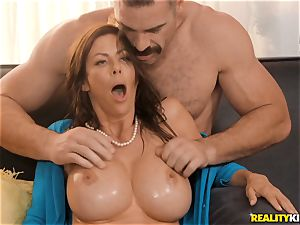 man rod stuffing Alexis Fawx