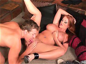 Sophie Dee hatch pounds this rigid throbbing fuck-stick