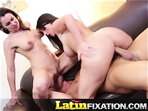 LatinFixation super hot 3 way with Sophie Dee