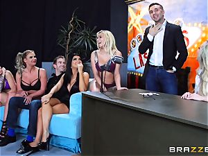 hot dirty fun with Brandi enjoy and her dolls