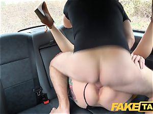 fake taxi Ava Austen in torrid kinky taxi nail