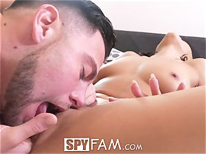SPYFAM fresh Years Eve plumb with Adriana Chechik