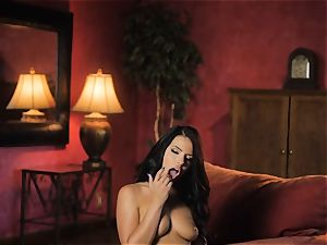 Adriana Chechik steaming solo onanism session