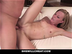 SheWillCheat - Squirty wifey Gets Slayed By Internet dude
