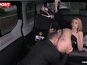 taxi Driver shoots a load a few Times In spectacular Czech vag