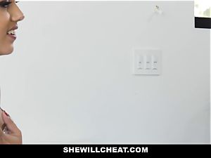ShewillCheat - fabulous wife plumbs big black cock