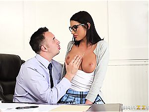August Ames satisfies the dean