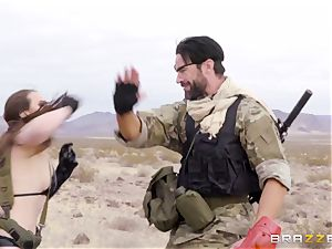 metal Gear Solid five ass fucking pornography parody with ultra-kinky brown-haired Casey Calvert