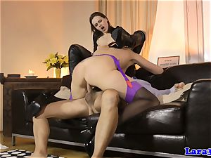 glamour mature cummed in facehole in 3 way