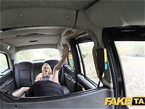 faux cab fabulous mum with gigantic melons inhales manstick