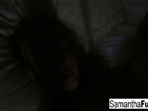 Samantha Home vid Morning joy