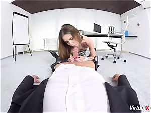 uber-cute Elle Rose point of view penetrated