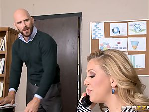 mummy chief Cherie Deville gets shafted by a phat dicked employee