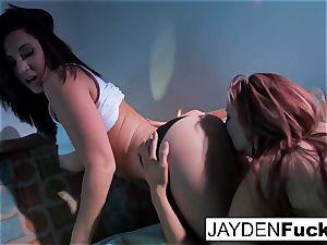 Jayden Jaymes and Jayden Cole get insane