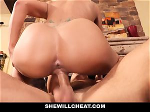 hotwife hubby sees Wifes cunny Get wrecked
