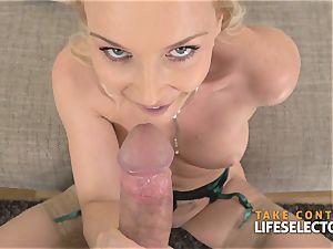 Kathia Nobili - big-chested blond pleased With bone
