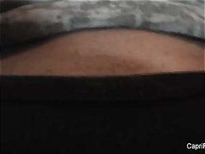 Home video masturbation with Capri Cavanni