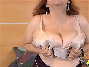 LatinChili enticing Adult toy Solo masturbation
