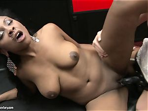 harsh Kathia Nobili thrusts her string on man sausage deep down her playmate facehole