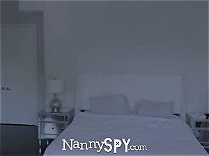 NannySpy insane maid Aidra Fox smashed on halloween