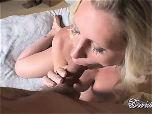 Devon Lee is loving her man's crop plunged in her mouth-watering mouth