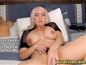 super-fucking-hot mummy Doing nasty On web cam