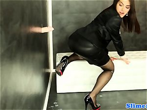 Valentina Nappi gets WAM with mass ejaculation jizz
