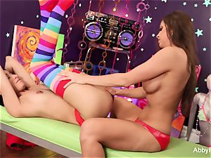 Abigail Mac has raunchy superb sapphic joy with Lily Evans