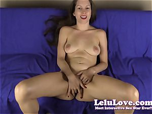 pov frigging my pussy for you with jerkoff command