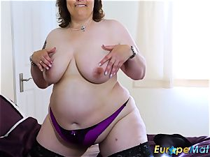 EuropeMaturE buxom femmes luxurious Showoff Compilation