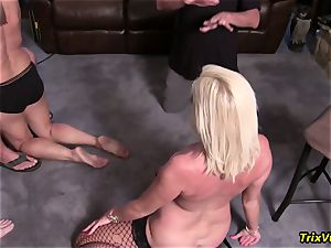 Stripper at the birthday party with Ms Paris Rose