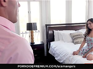 SCAM ANGELS - Gina Valentina gang orgy with super-hot honies