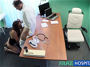 FakeHospital physician pulverizes minx in job interview