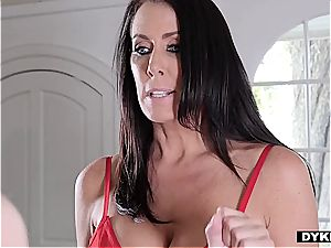 bully biotch Lacey gets dominated by an angry immense orb cougar