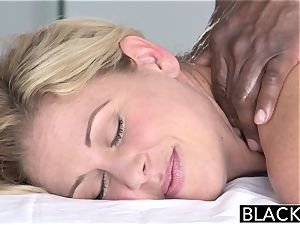 BLACKED steaming Southern blonde Takes immense black manmeat
