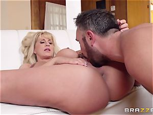 Mean mom Ryan Conner plumbs her daughters thick dicked dude