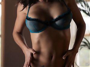 Julia Luba teasing you with her super super hot figure