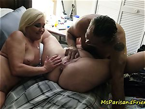 spurting Swingers romp with Ms Paris and mates