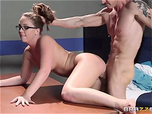 Nurse Maddy OReilly puts things right with a plumbing