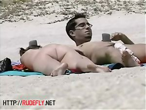 outstanding nudity of some nudist babes on the beach