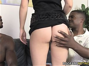 multiracial anal sex And dp With Jessie Volt