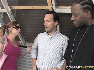Scarlett agony pulverizes big black cock but her parent doesn't like it