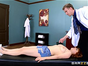 Patient Penny Pax screwed by humungous dicked medic