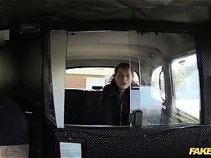 faux taxi harmless teen takes huge phat schlong