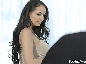 beautiful Sofi Ryan seducing the cameraman