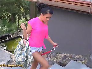 Nuru rubdown bang-out with Samantha Johnson