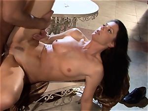 India Summers India Summers is luving the ample man-meat pleasing her super-steamy cooter har