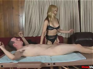 client Shocks To see The wonderful towheaded masseur