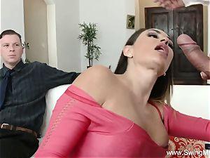 Arabian mummy Swinger fuck-a-thon
