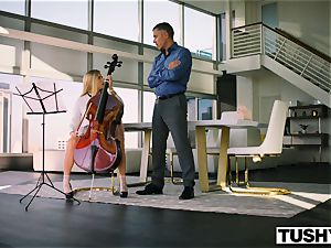 TUSHY Spoiled nubile is punished And Gaped By Music instructor